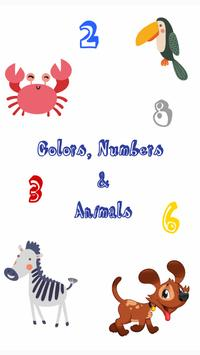 Listen to Colors, Numbers & Animals poster