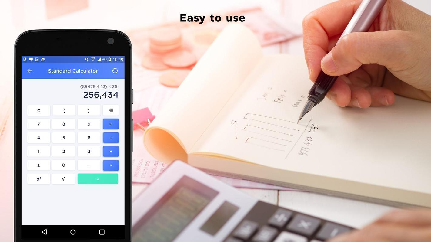 Scientific calculator online & offline for free for android.