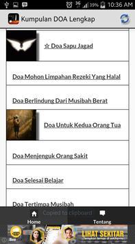 Kumpulan DOA LENGKAP Terbaru+ apk screenshot
