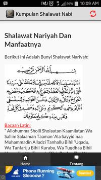 Shalawat Nabi Lengkap apk screenshot