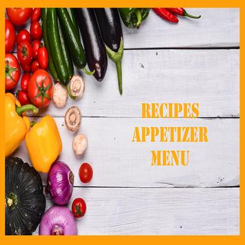 Recipes Appetizer Menu poster