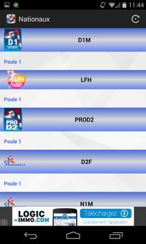 Handball Score screenshot 1