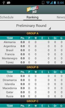 Handball 2013 IHF W C screenshot 2