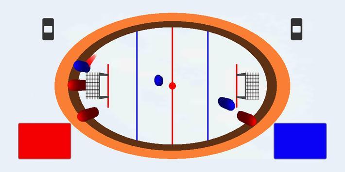 HOT PUCK -Brainless hockey poster