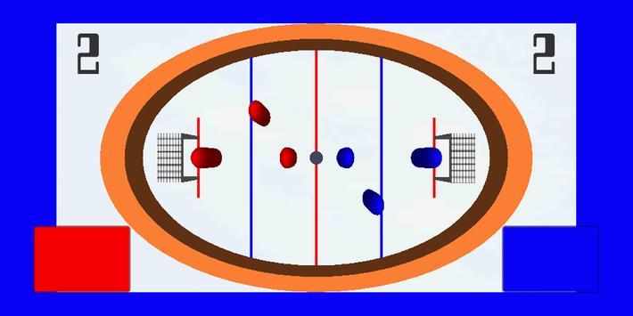 HOT PUCK -Brainless hockey screenshot 1