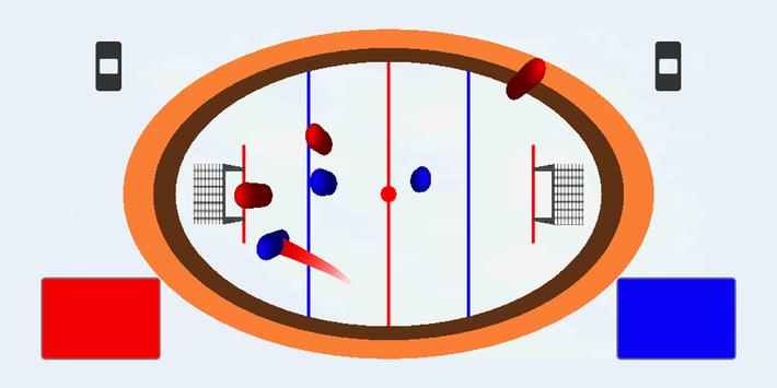 HOT PUCK -Brainless hockey screenshot 2