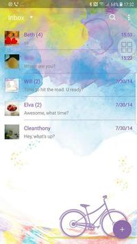 Love nature Next SMS  Skin screenshot 1