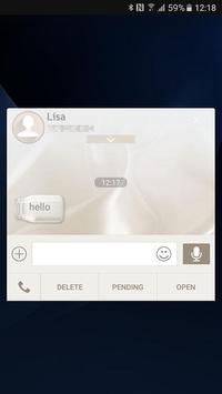 Silky skin (Next SMS) screenshot 3