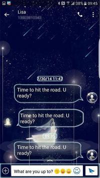 White Dream skin (Next SMS) screenshot 3