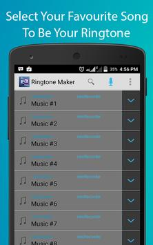 Audio Cutter Ringtone Maker screenshot 3