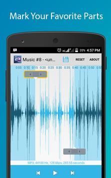 Audio Cutter Ringtone Maker screenshot 1
