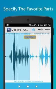 Audio Cutter Ringtone Maker screenshot 2