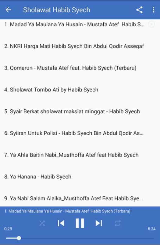 Sholawat Habib Syech Terbaru 2017 For Android Apk Download