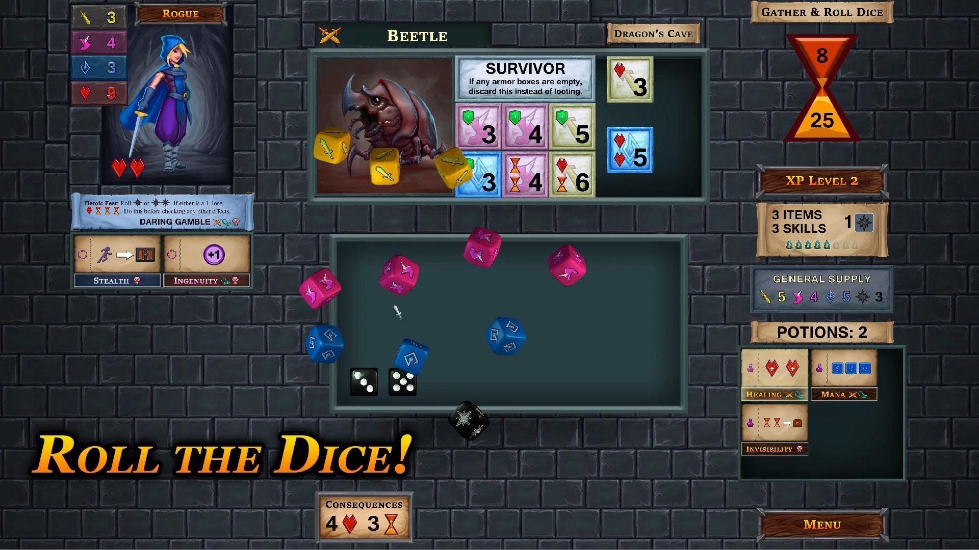 One Deck Dungeon For Android Apk Download