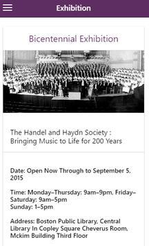 Handel and Haydn Society screenshot 3