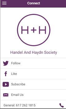 Handel and Haydn Society screenshot 4