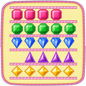 Puzzle Jewels Swipe icon