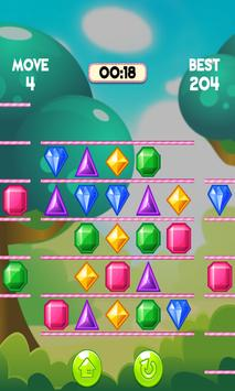 Puzzle Jewels Swipe apk screenshot