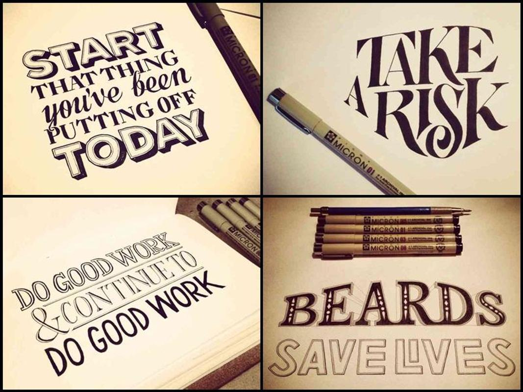 Hand lettering design ideas apk download free lifestyle