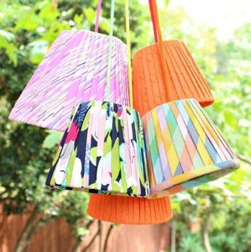 handmade lampshades tutorial screenshot 3