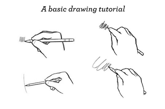 Basic Drawing Techniques poster