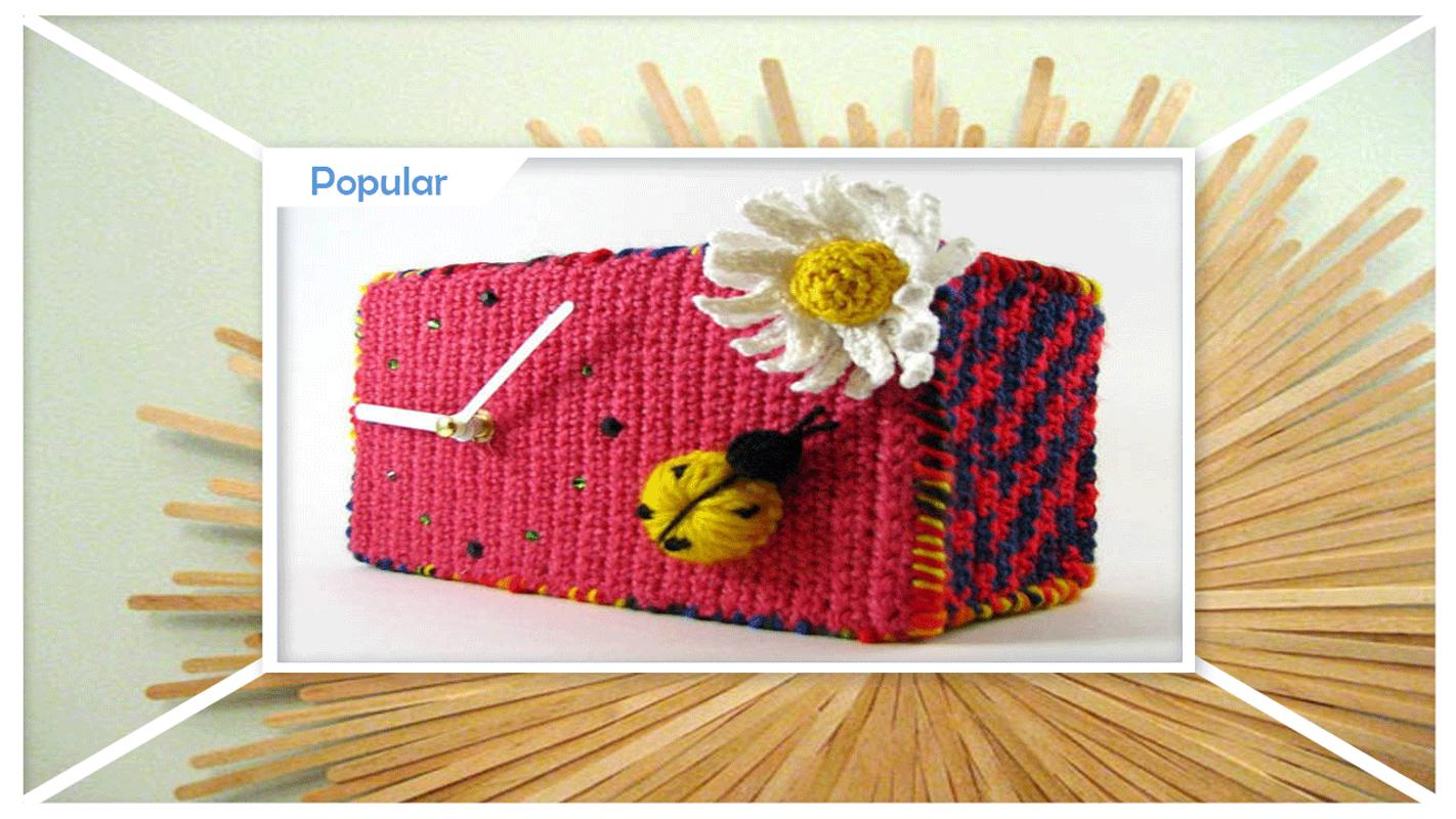 DIY crochet patrones de reloj de pared for Android - APK Download