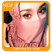 Eyebrows For Hijab icon