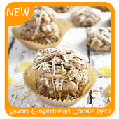 Savory Gingerbread Cookie Recipes icon