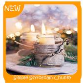 Simple Styrofoam Chunky Candleholders icon