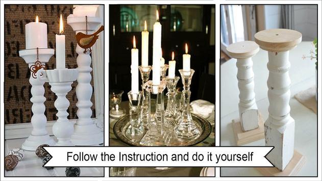Simple Styrofoam Chunky Candleholders screenshot 2
