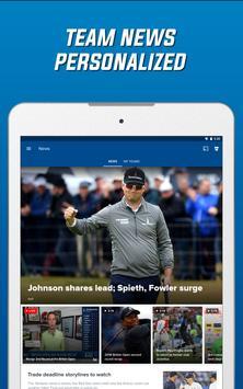 Schermata apk CBS Sports App - Scores, News, Stats & Watch Live
