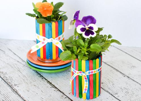 Flowers pots design screenshot 2