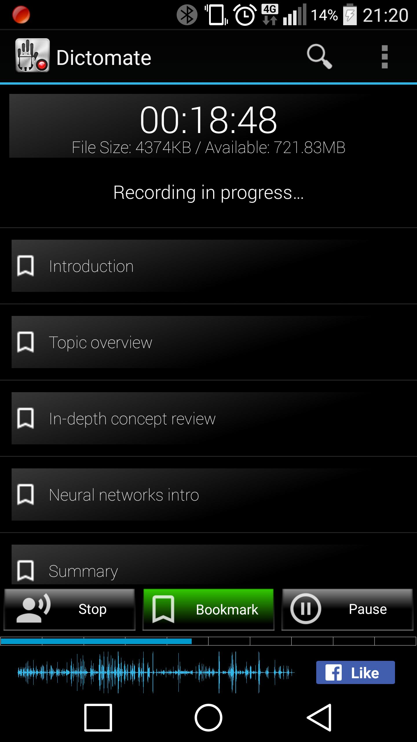 Dictomate Free Audio Recorder for Android - APK Download