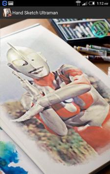 Hand Sketched Ultraman apk screenshot