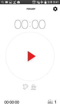 포커시 (집중 타이머) 포모도로 apk screenshot