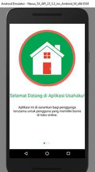 Usahaku poster