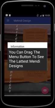 Eid Mehndi Designs 2017 apk screenshot