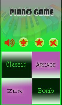 Excercise Piano Game screenshot 1