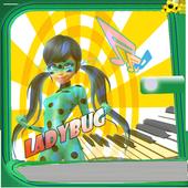 Ladybug PianoTiles icon