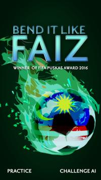 Bend it like Faiz poster