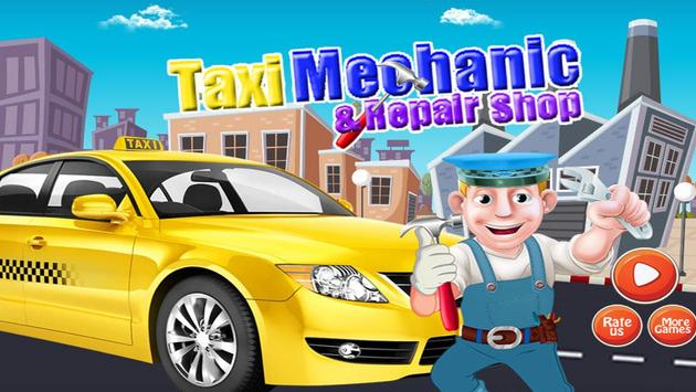 Taxi Mechanic & Repair Shop poster