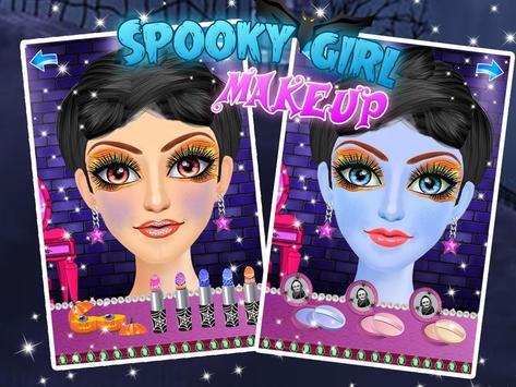 Spooky Makeup Princess Salon screenshot 1