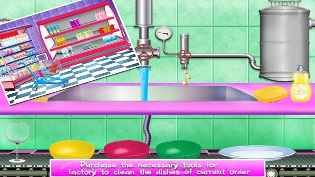 Dishes Washing Delivery Game screenshot 2