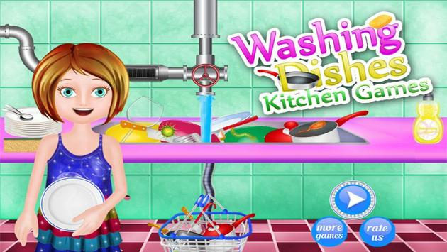 Dishes Washing Delivery Game screenshot 5