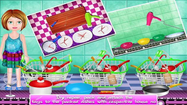 Dishes Washing Delivery Game screenshot 8