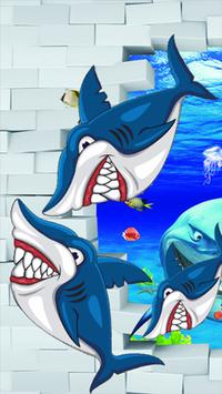 shark hangry attack GO poster