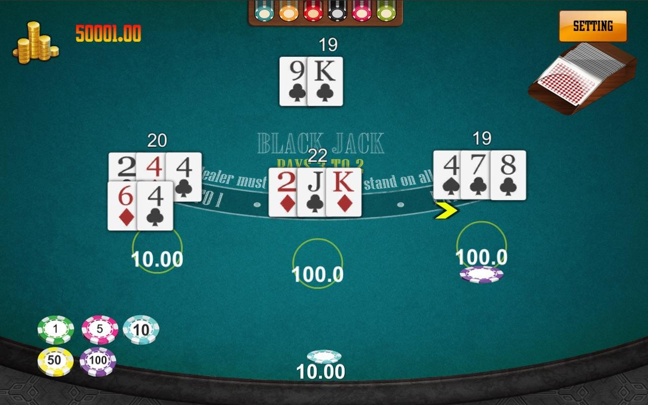 Blackjack 21 Casinoking Non Online Free Game For Android Apk