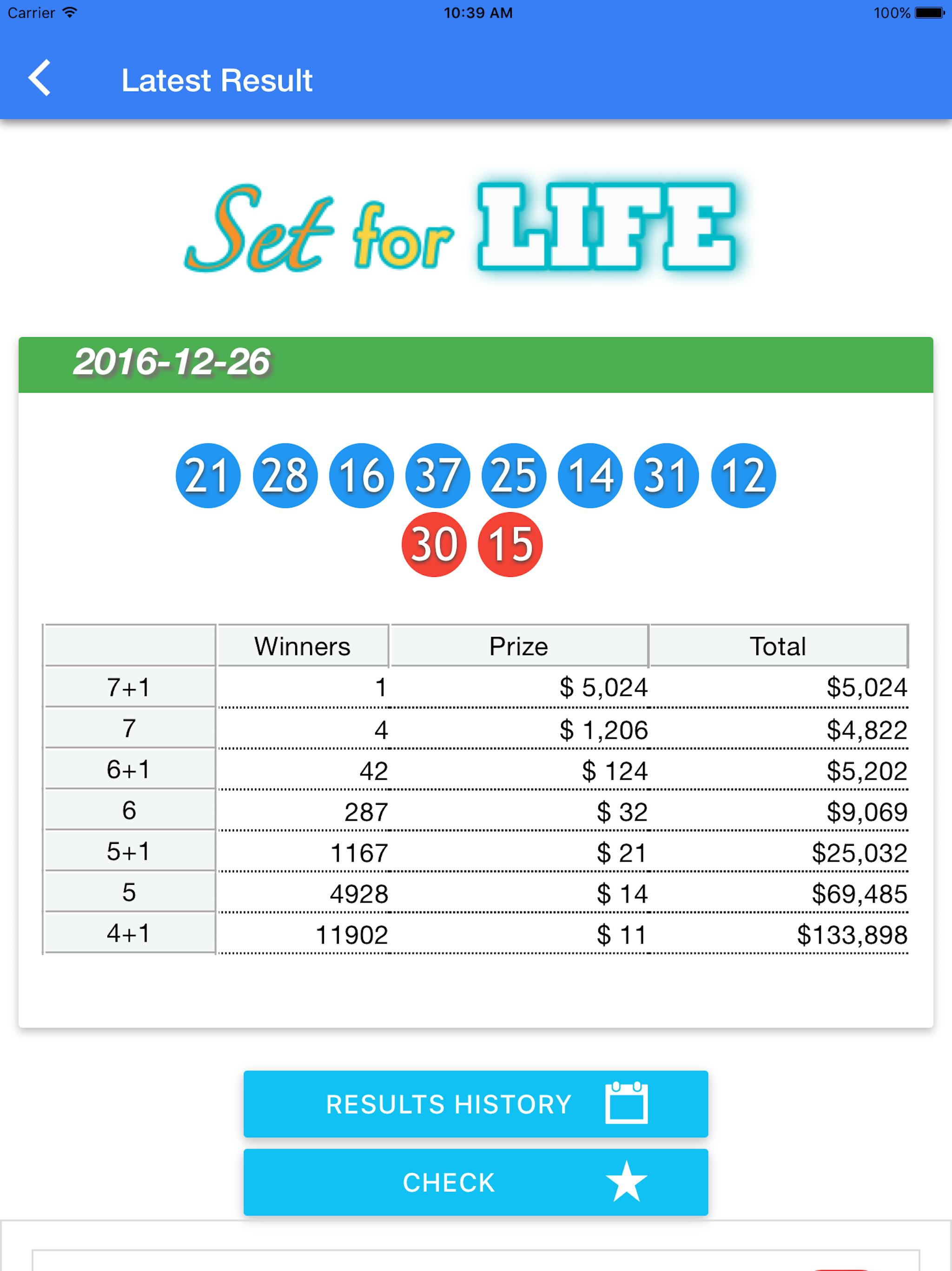 Australia Lotto Result Check For Android Apk Download