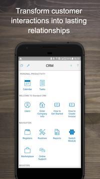Standard CRM – Customer Relationship Management poster