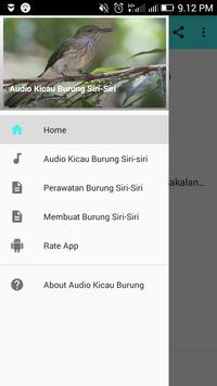 Audio Kicau Burung Siri-Siri poster